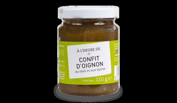 Confit d'oignon au miel et aux épices