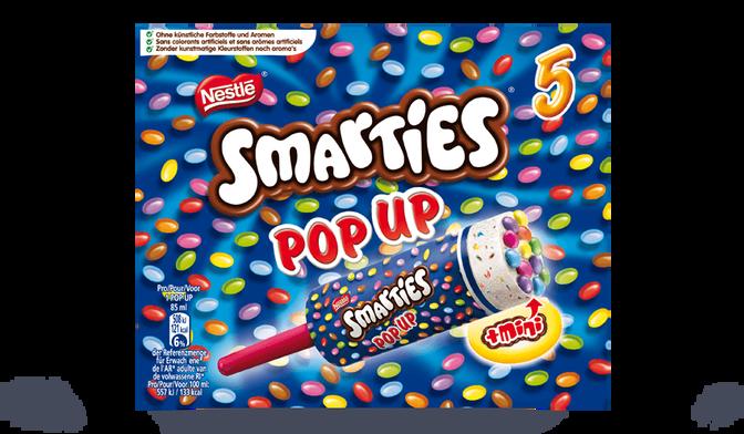 5 SMARTIES POP UP