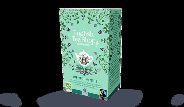 Thé vert menthe bio, English Tea Shop