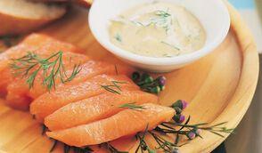 Sashimi de saumon gavlaks