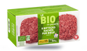 8 biftecks hachés bio, pur boeuf, 15% M.G maximum