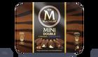 8 Mini Magnum Double caramel et chocolat