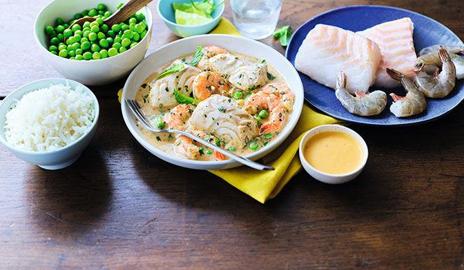Curry de la mer