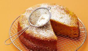 Gâteau moelleux à la carotte