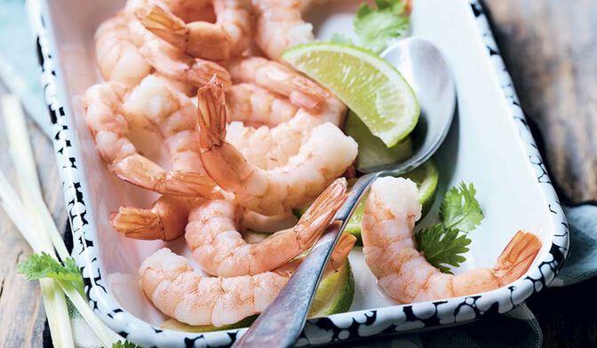 Queues de crevettes tropicales cuites décortiquées « cocktail » bio