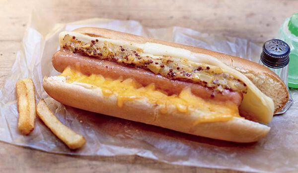Hot-dog à la New-Yorkaise