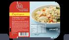 Colombo de poissons, riz et lentilles corail