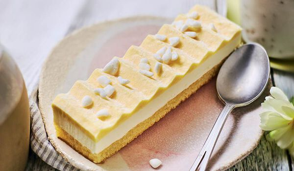 Entremets citron, 1 part