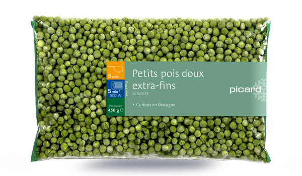 Petits pois doux extra-fins, France