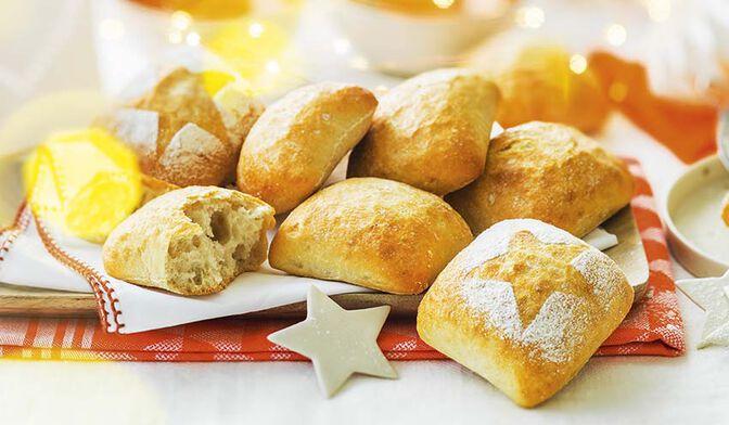 6 petits pains à l'italienne