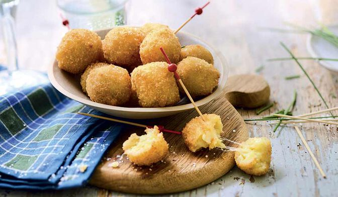 Bouchées à la pomme de terre au Gruyère IGP