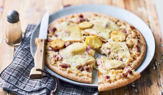 Pizza à la montagnarde