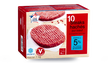 10 steaks hachés, 5% M.G maximum, origine France