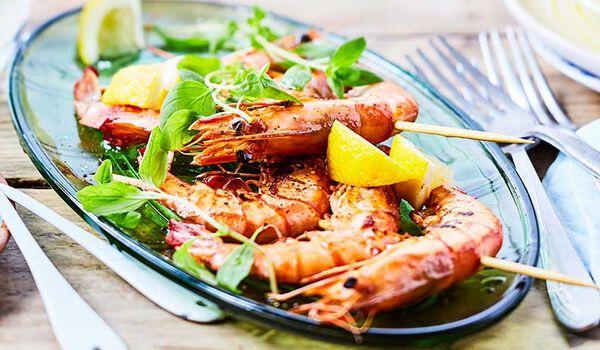 Crevettes crues 16-24/uv élevées à Madagascar