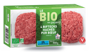 4 biftecks hachés bio (100g) pur boeuf