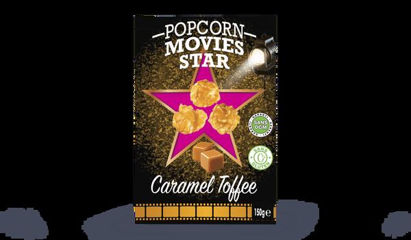 Popcorn caramel toffee