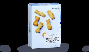 Mini-flûtes feuilletées sel et poivre