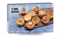 15 mini-quiches