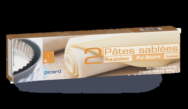 2 pâtes sablées pur beurre pré-étalées
