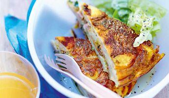Tortilla de pommes de terre à la sarladaise