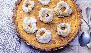 Pumpkin pie à la cannelle et coco