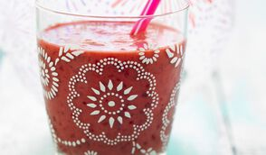 Smoothie cerise-rose