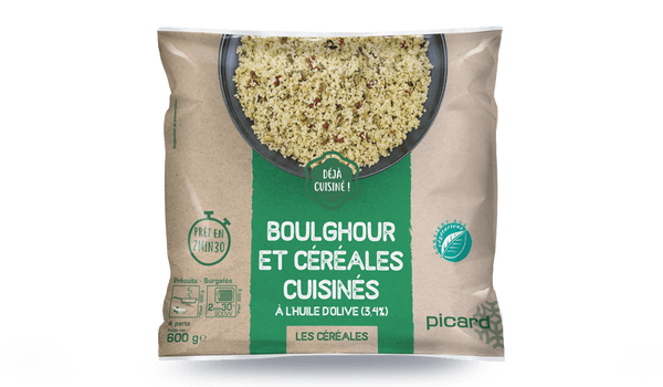 Boulghour cuisinés à l'huile d'olive (3,4%)