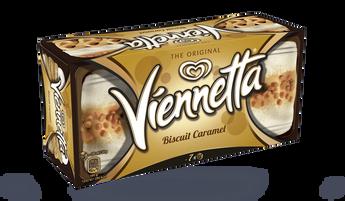 Viennetta biscuit caramel