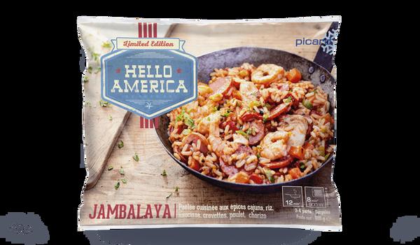 Jambalaya, poêlée cuisinée aux épices cajuns