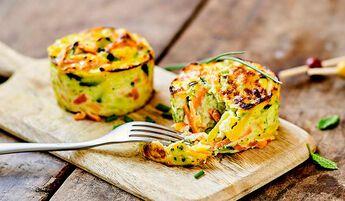 4 mini-gratins de légumes