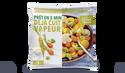 Mélange de choux romanesco, carottes parisiennes