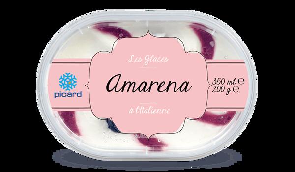 Glace Amarena à l'italienne