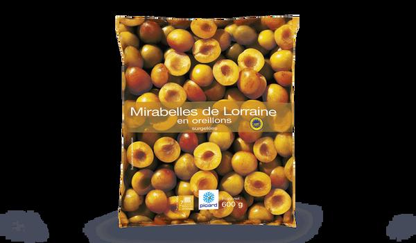 Mirabelles de Lorraine en oreillons, France