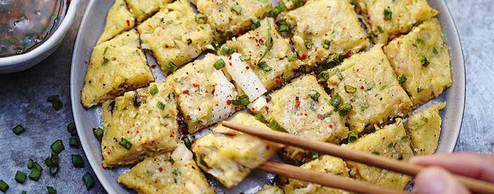 Galettes de fruits de mer à la coréenne
