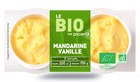 2 mini-pots mandarine-vanille bio