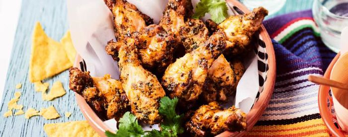Manchons de poulet au chimichurri