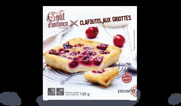 Clafoutis aux griottes, 1 part