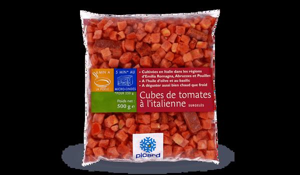Cubes de tomates à l'italienne, Italie