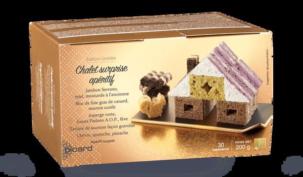 Chalet surprise apéritif, 30 sandwichs