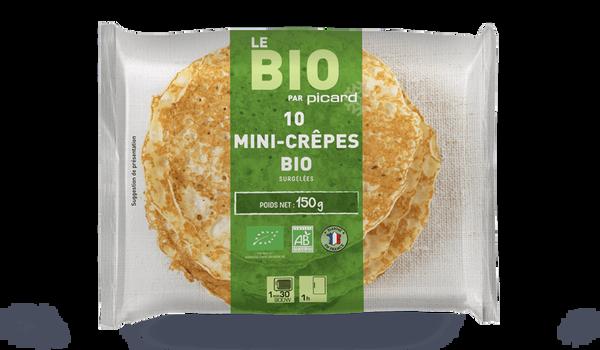 10 mini-crêpes bio