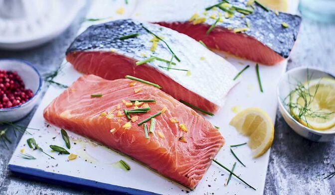 4 pavés de saumon argenté du Pacifique MSC