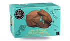 Lapin de Pâques chocolat-noisette, 6 parts