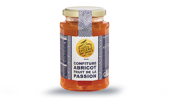 Confiture abricot-fruit de la passion
