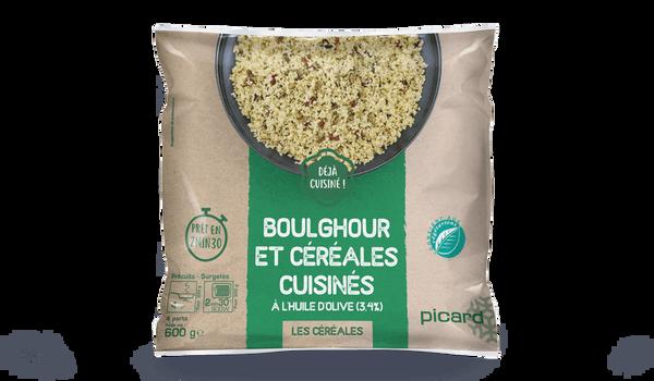 Boulghour cuisinés à l'huile d'olive (3%)