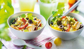 Salade à l'orientale