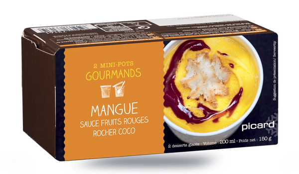 2 mini-pots mangue-fruits rouges