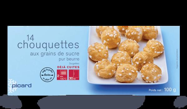 14 chouquettes