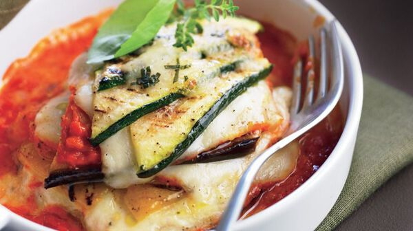 Lasagnes de légumes grillés