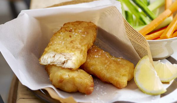 2 dos de cabillaud façon fish and chips MSC