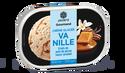 Crème glacée vanille, sauce caramel